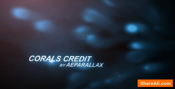 Videohive Underwater Title Sequence - Abstract Corals