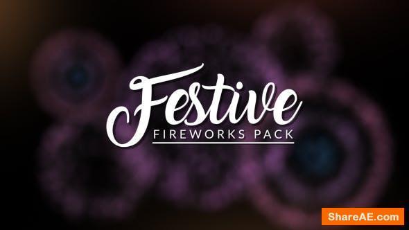 Videohive FESTIVE - Fireworks Pack