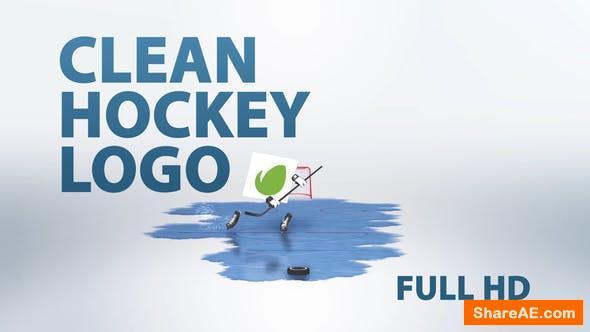 Videohive Clean Hockey Logo