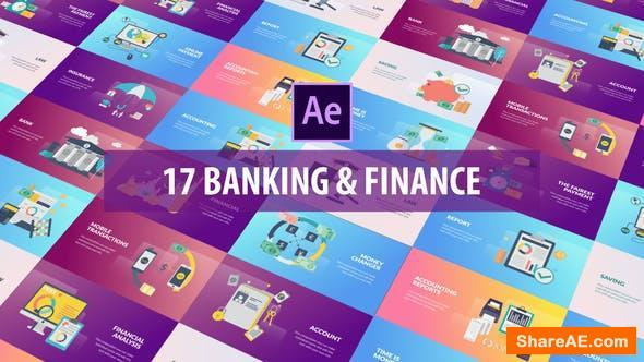 Videohive Banking and Finance - Flat Animation