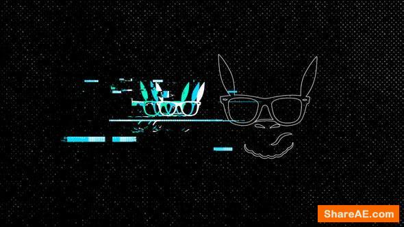 Videohive Glitch Logo Reveal 26047688