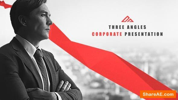 Videohive Corporate Presentation Three Angles
