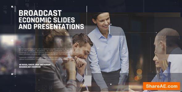 Videohive Broadcast Economic Slides/ Business Promo/ Event Promo/ Motivation/ Political News/ Corp Conference