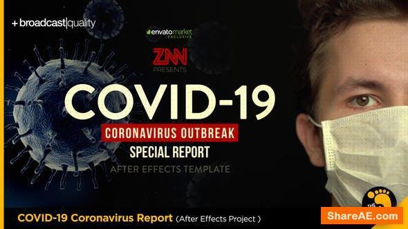 Videohive Corona COVID-19 Virus Broadcast Special Report