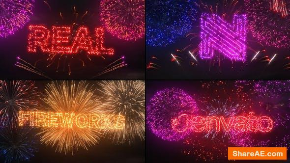 Videohive Fireworks Logo & Titles