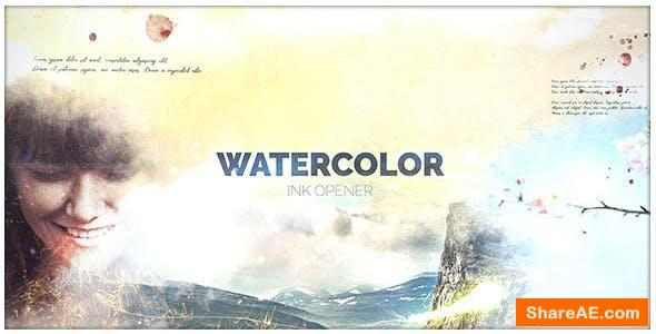 Videohive Watercolor Ink
