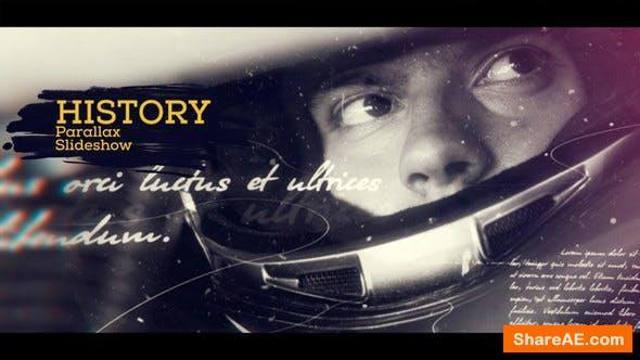 Videohive History Parallax Slideshow 19263999