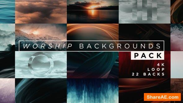 Videohive Worship Backgrounds Pack