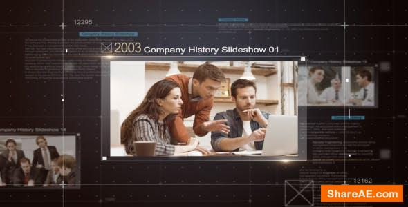 Videohive Company History Slideshow
