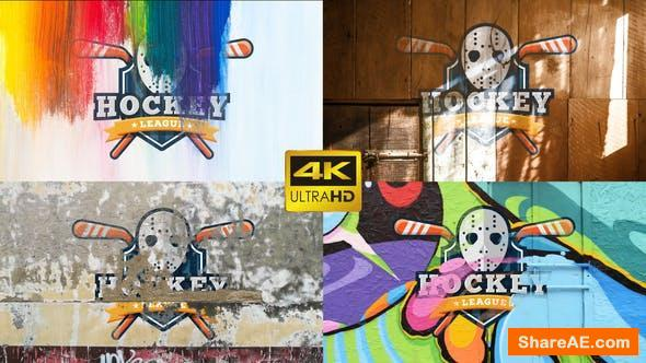Videohive Texture Logo 4K