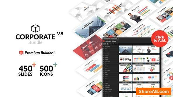 Videohive Corporate Bundle & Infographics v5