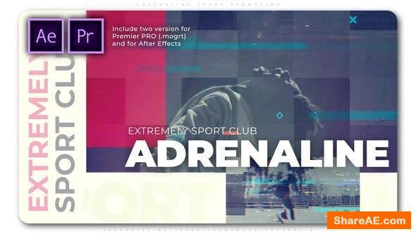 Videohive Adrenaline Sport Promotion - Premiere PRO