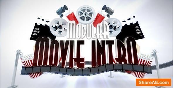 Videohive Modular Cinema Intro Logo Reveal