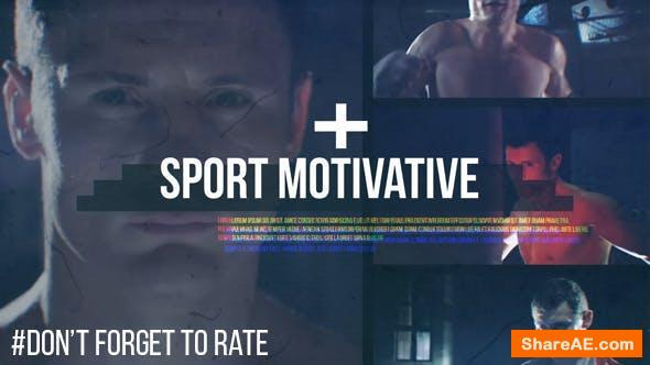 Videohive Sport Motivative // Dynamic Glitch