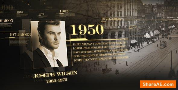 Videohive History Timeline 17161553