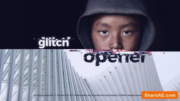 Videohive Glitch Intro - Glitch Opener