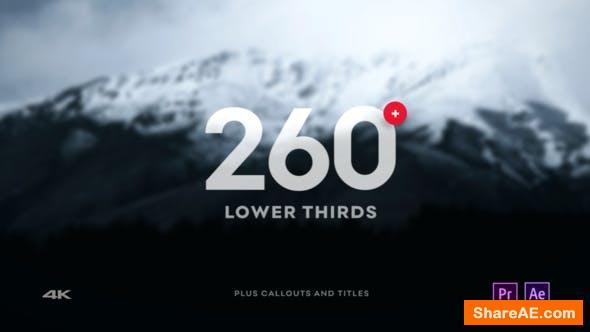 Videohive Clean Lower Third - After Effects Project