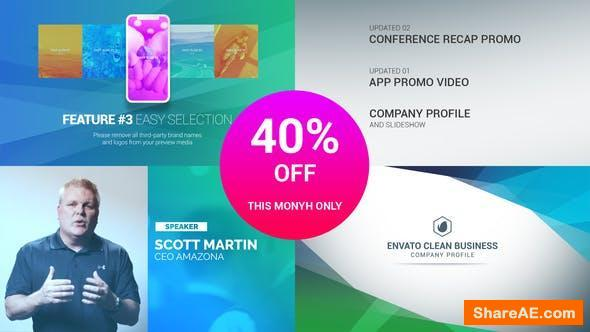 Videohive Clean Business Company Profile (Version 2)