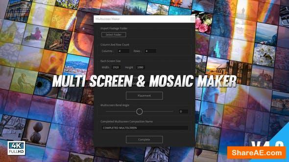 Videohive Multi Video Screen Maker Auto v4