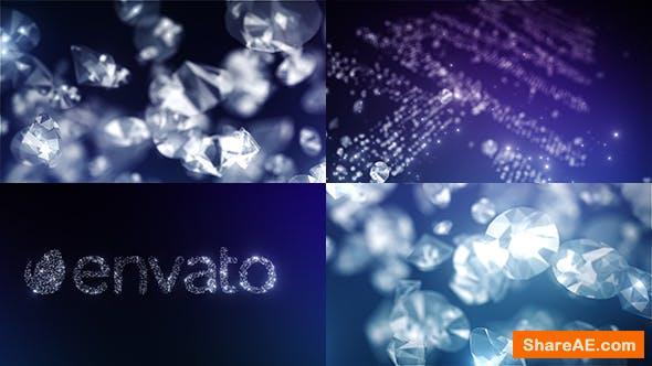 Videohive Diamonds Logo Reveal