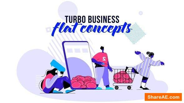 Videohive Turbo Business - Flat Concept