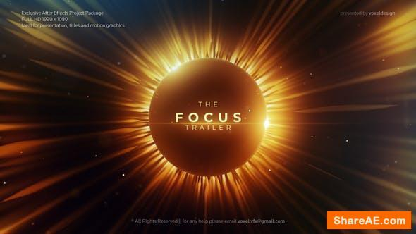 Videohive Focus Cinematic Trailer