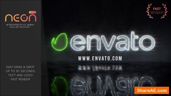 Videohive Neon Logo 26041849