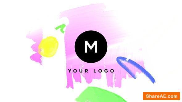 Videohive Hand Drawn Brush Logo