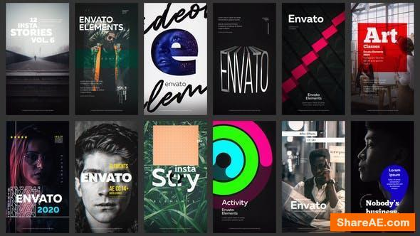 Videohive 12 Instagram Stories Vol. 6