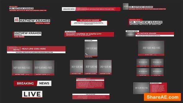 Videohive News Minimal Lower Thirds