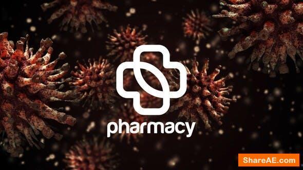 Videohive Coronavirus Logo Reveal