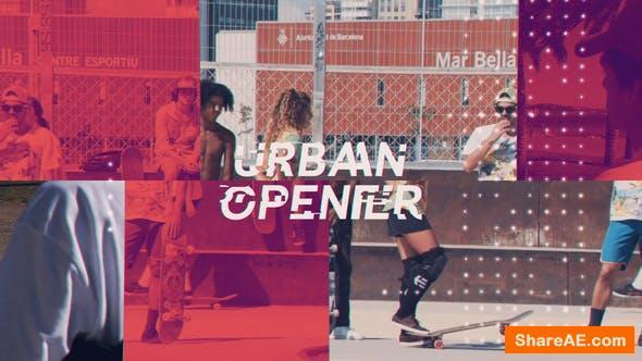 Videohive Modern Urban Opener