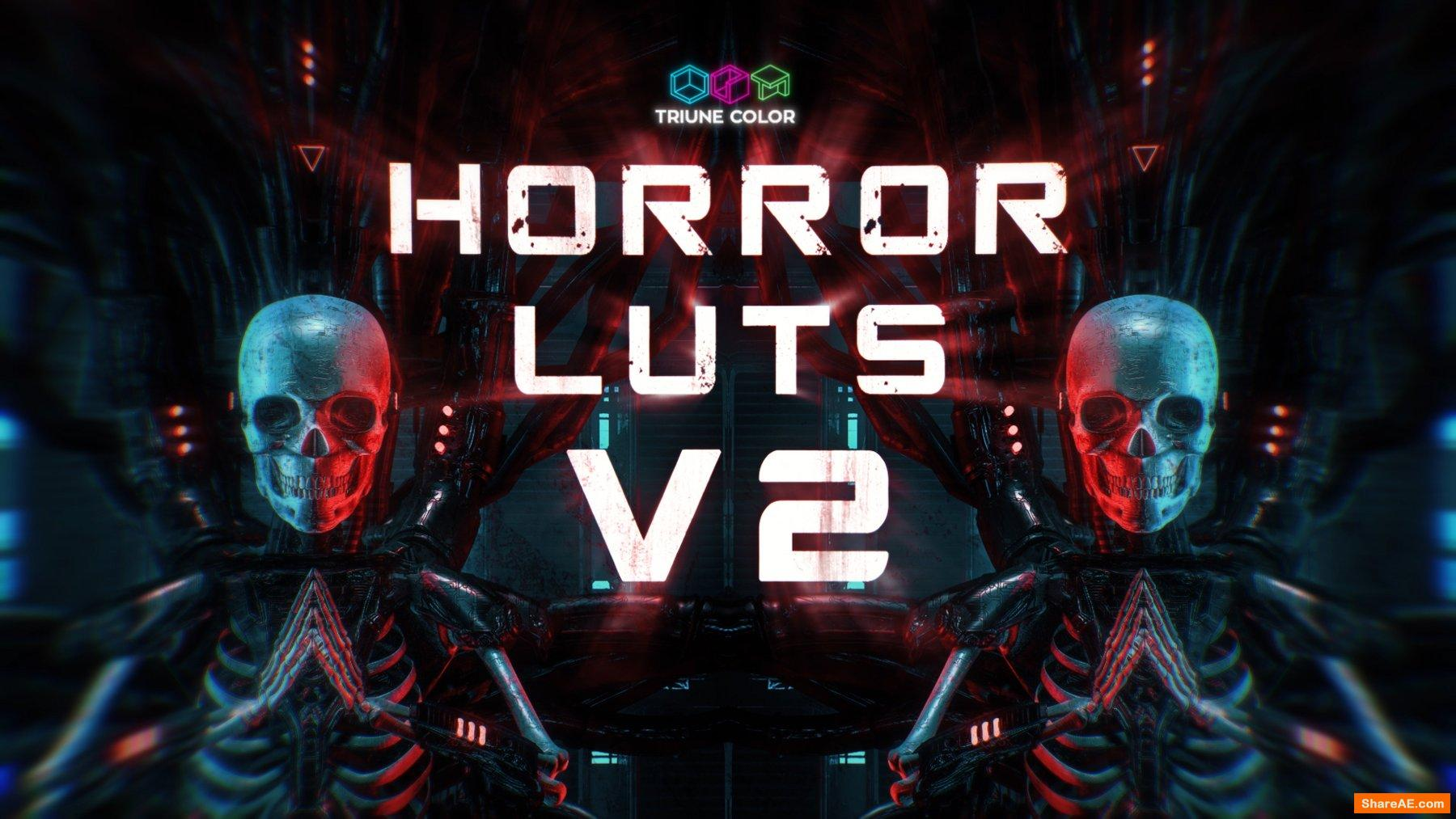 Horror LUTs V2 - Triune Digital