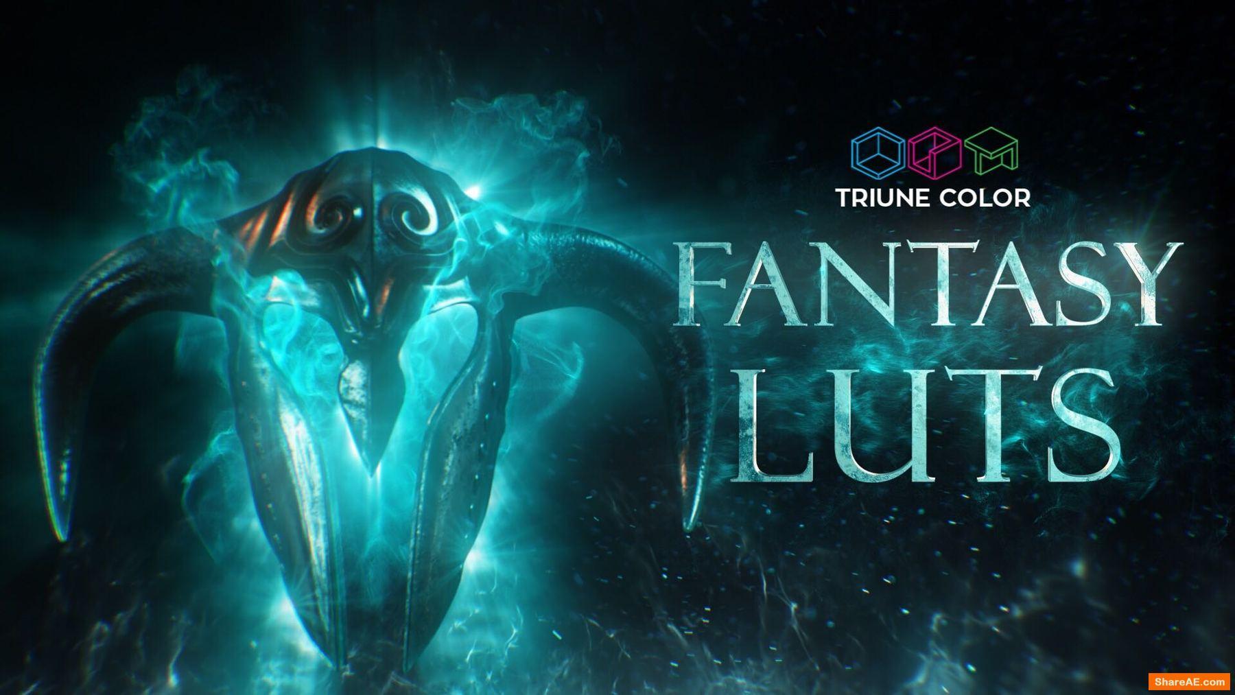 Fantasy LUTs - Triune Digital
