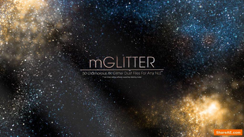 mGlitter – 50 Glamorous 4K Glitter Dust - MotionVFX