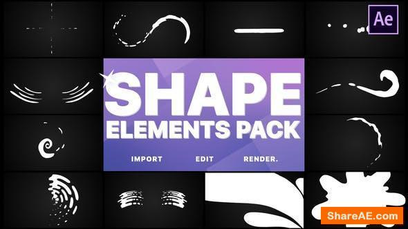 Videohive Shapes Collection | After Effects