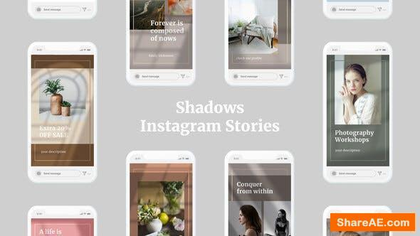 Videohive Shadows Instagram Stories