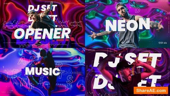 Videohive DJ Music Opener