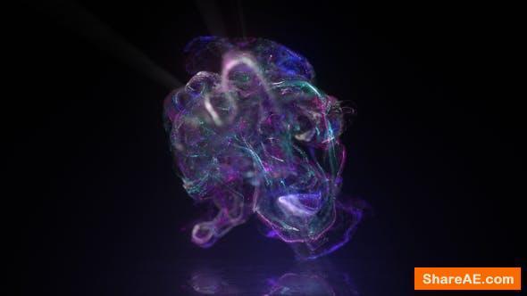 Videohive Neon Fluid Logo Reveal