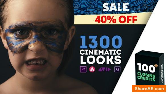 Videohive LUTs Color Presets Pack | Cinematic Looks v8- Premiere Pro