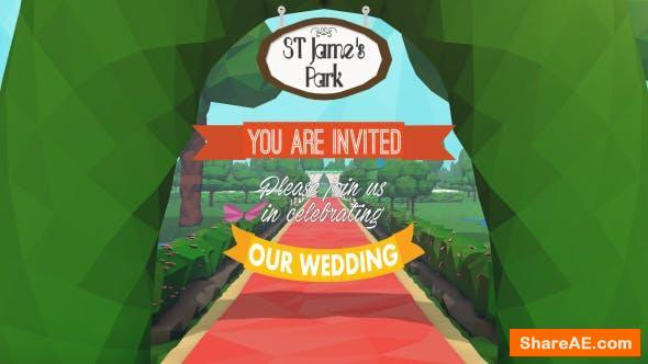 Videohive Wedding Invitation 14551413