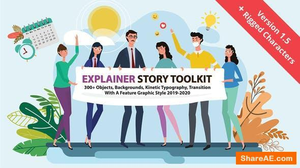 Videohive Story Maker Explainer Toolkit