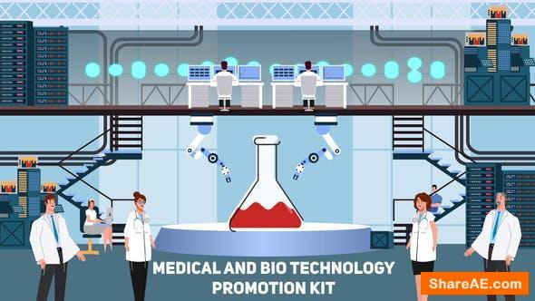 Videohive Medical and Bio Technology Promotion Kit