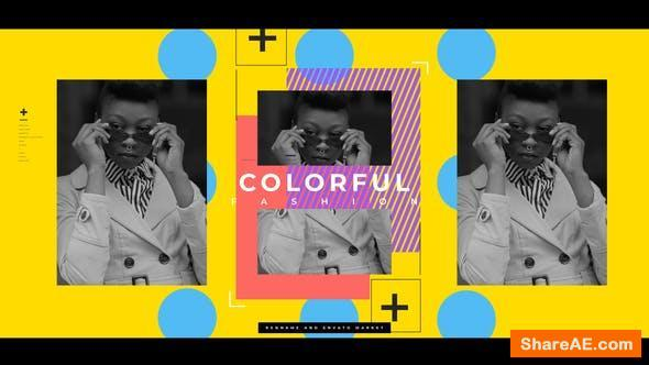 Videohive Colorful Fashion Opener