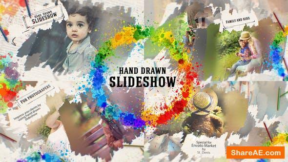 Videohive Hand Drawn Slideshow 26144584