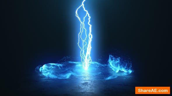 Videohive Vortex Lightning Explosion Logo