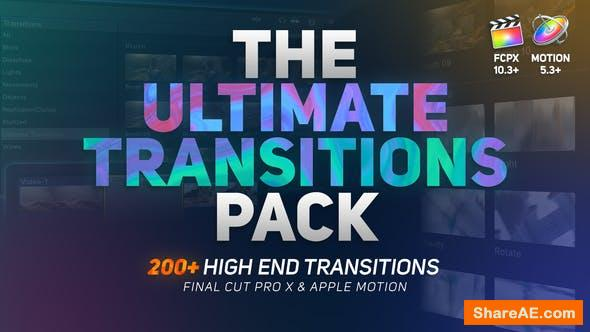 Videohive The Ultimate Transitions Pack - Final Cut Pro X