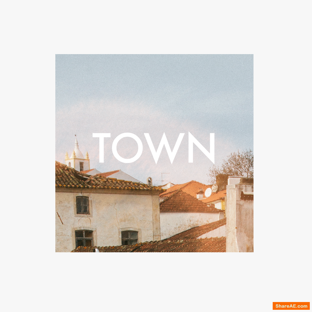 Town 24 Color Grades LUTs - Cinegrain