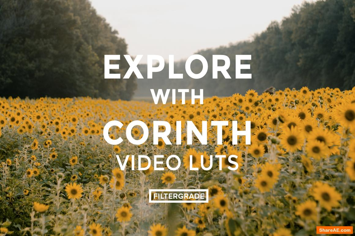 Corinth Suarez Video LUTs - Filtergrade
