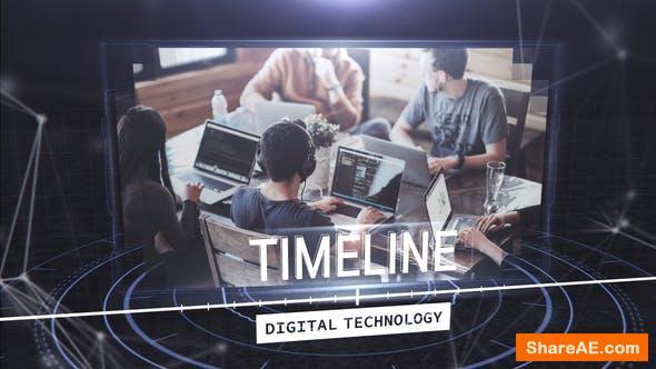 Videohive Digital Techonology Timeline